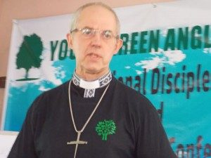 Anglican Archbishop of Canterbury at the International Youth Discipleship and Climate Change Conference Zambia