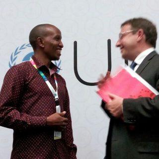 CYNESA David Munene Engages Achim Steiner At UNEA2