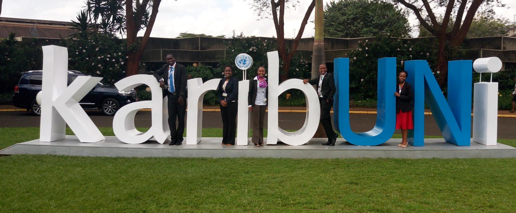 CYNESA at UNEP Gigiri Nairobi