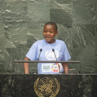 Getrude Clement - Opening Ceremony of the High-Level Event for the Signature of the Paris Agreement