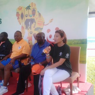 Iris Ho - Walk 4 Elephants - Dar es Salaam Tanznaia