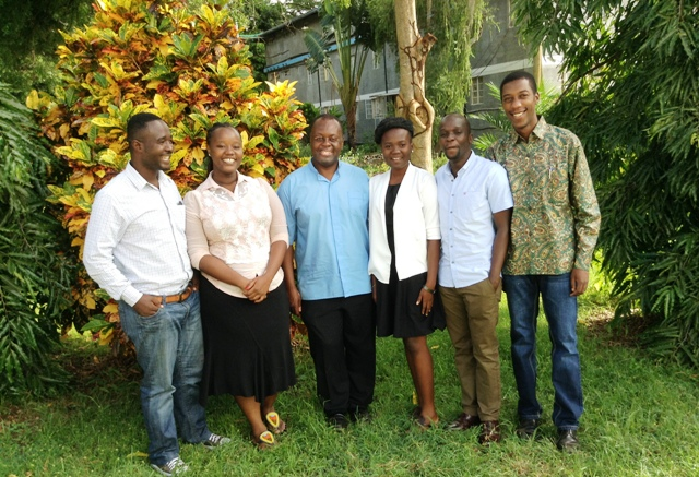CYNESA team with Fr Msafiri - Tanzania