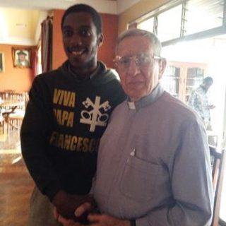 Allen and Fr. Etienne SJ