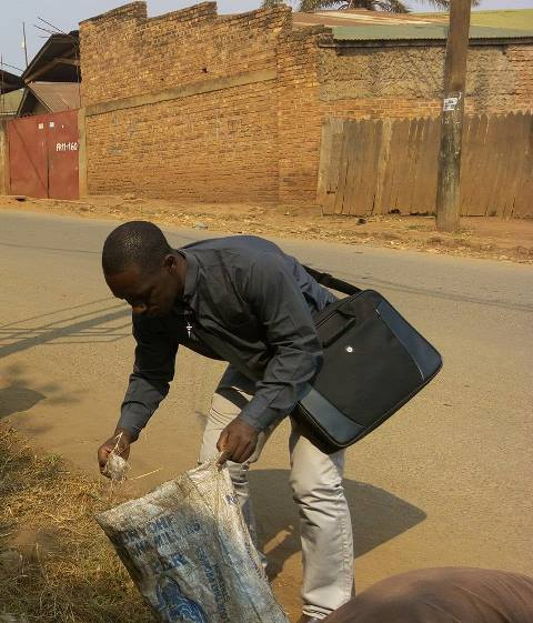 Fr. Laurien SJ - Cleaning bukavu