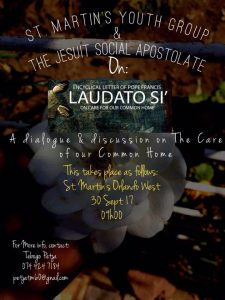 Laudato Si Joburg Workshop poster