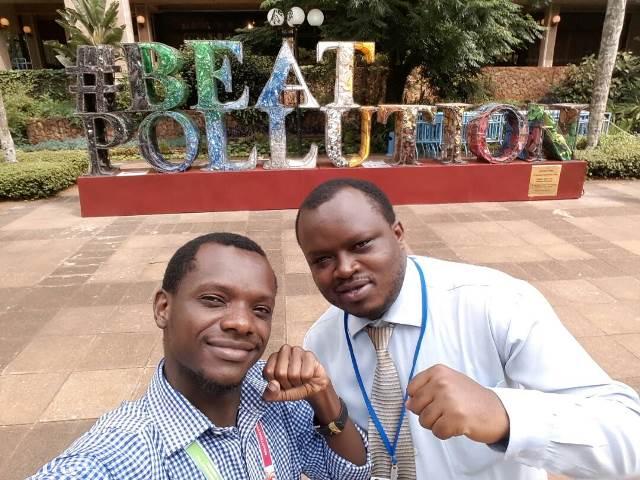 Benoit-CYNESA Rwanda at UNEA Nairobi