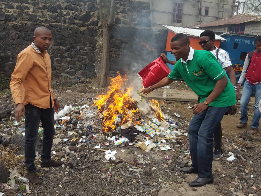 Anti-litter Campaign - CYNESA Goma