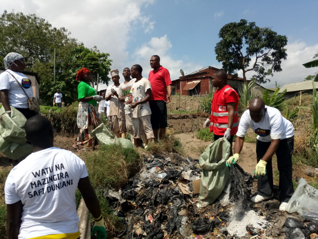 World Clean up Day Tanzania 2