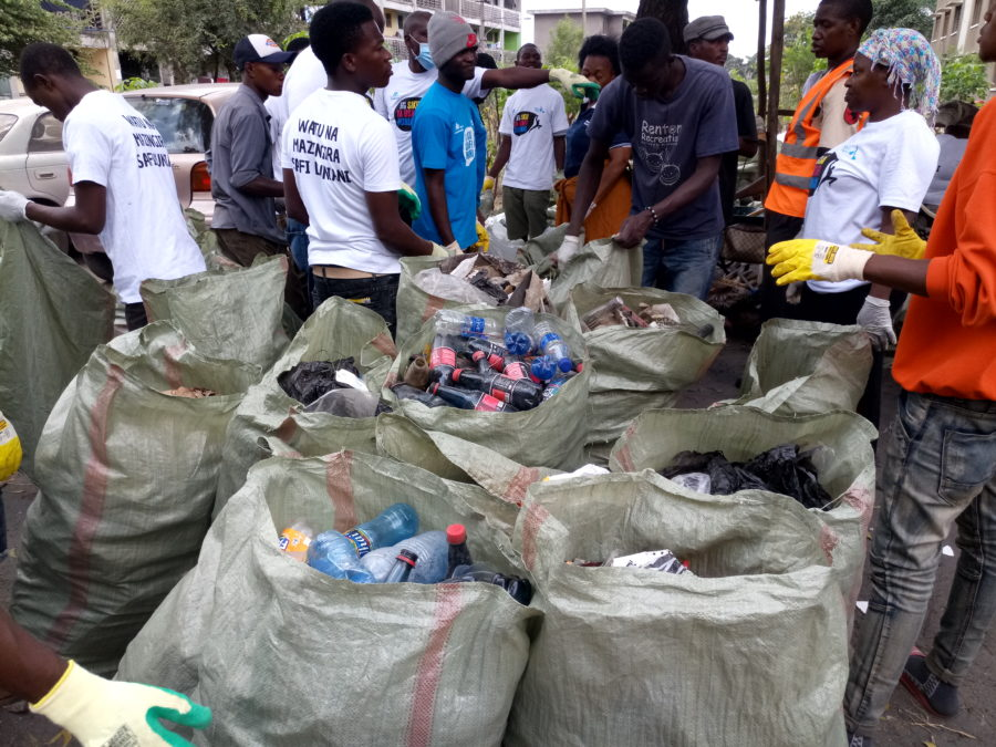 World Clean up Day Tanzania