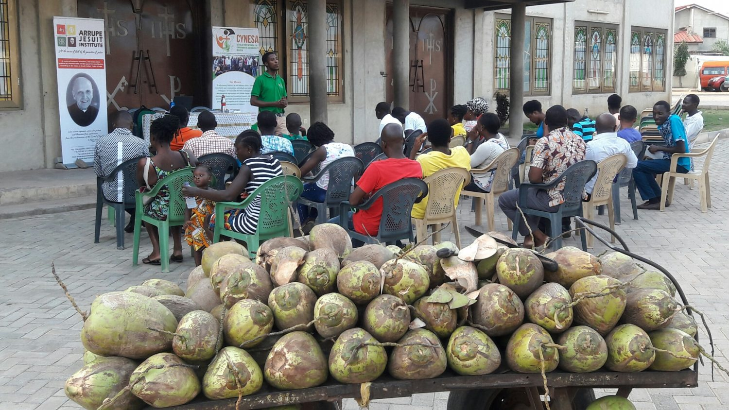 Climate and Coconut in Accra - CYNESA and Arrupe Jesuit Institute