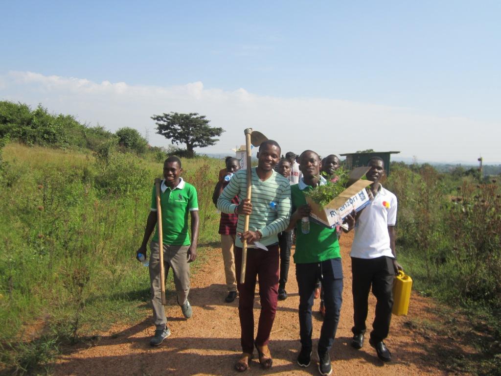 Tree planting in Uganda - Eliode Bakole 2