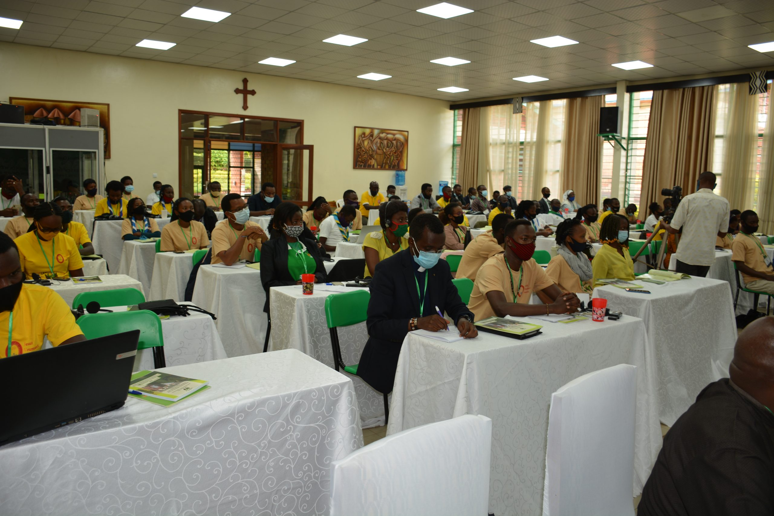 Young people at the Laudato Si conference in Kigali