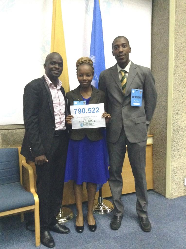 CYNESA Team Attends Pope Francis Meeting At UN Nairobi - 1