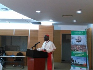 Card Turkson Speech - Laudato Si Conference - Mining and Agriculture - Zambia April 2016