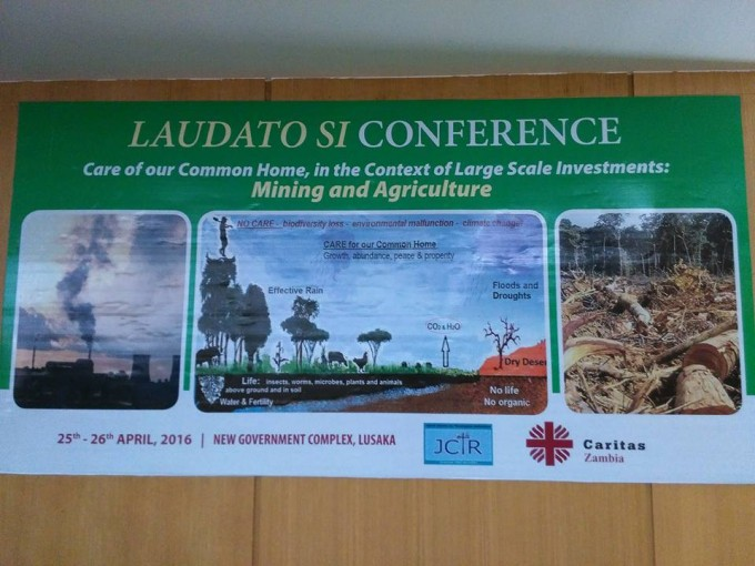 Laudato Si Conference - Mining and Agriculture - Zambia