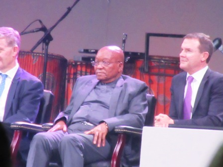 President Zuma and CITES SG John Scanlon