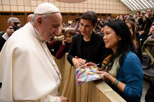 Pope Francis_Climate Ribbons