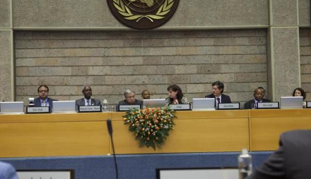 UN Secretary General in Nairobi UNEP 2017