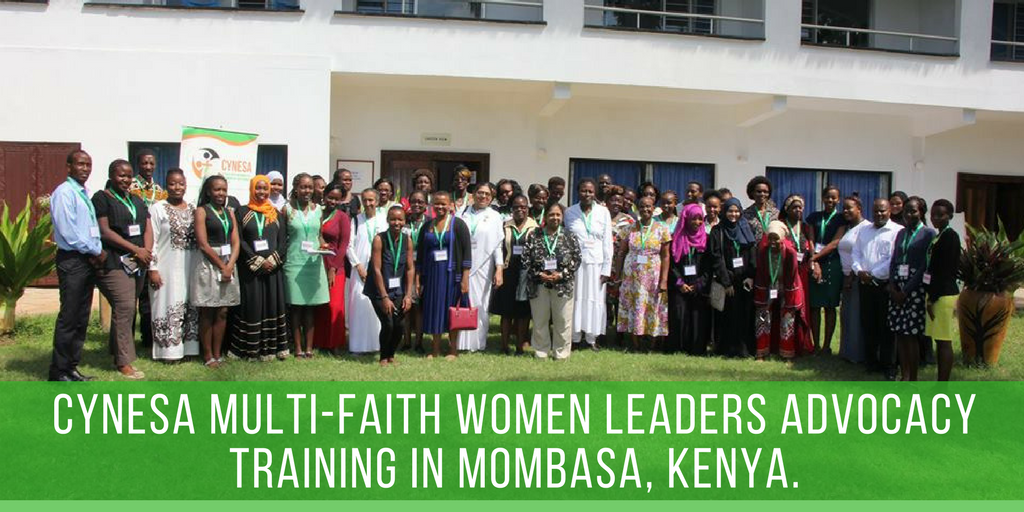 Multi-faith Women Leaders Advocacy Training