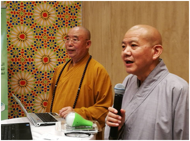 Climate Chance Summit - Master Ren Da and Venerable Miao Hai (China)