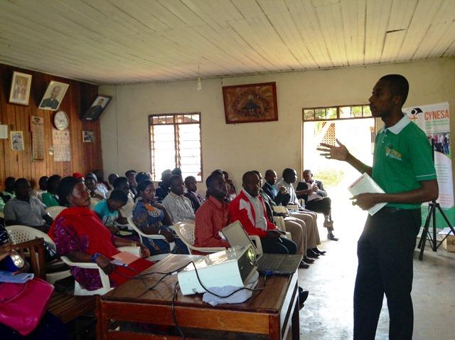 CYNESA Goes to Uganda - Allen Ottaro
