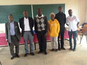 CYNESA Tanzania team at Archdiocese of Songea Tanzania