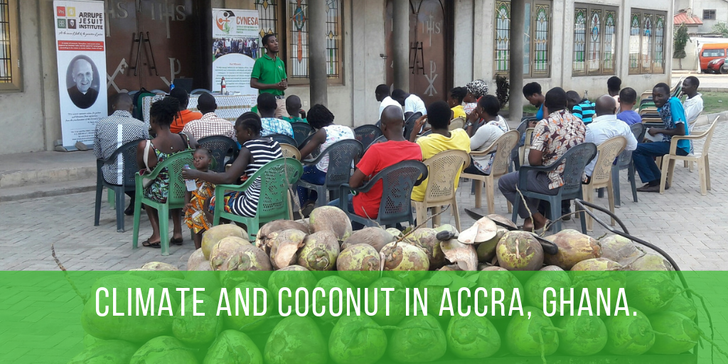Climate and Coconut in Accra, Ghana