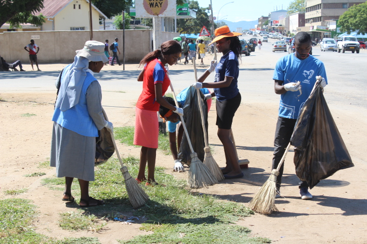 Masvingo Deanery Clean Up 3