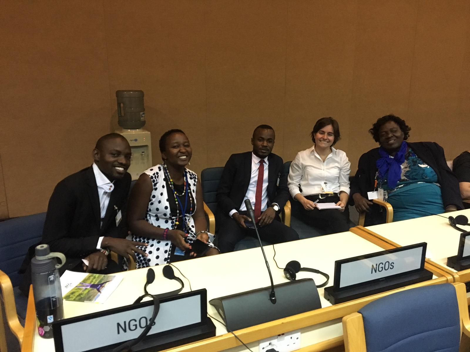 NGOs at the Global pact for Environment Nairobi