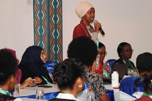 Doll Osman Abdi - CYNESA MultiFaith Women Leaders Workshop Mombasa